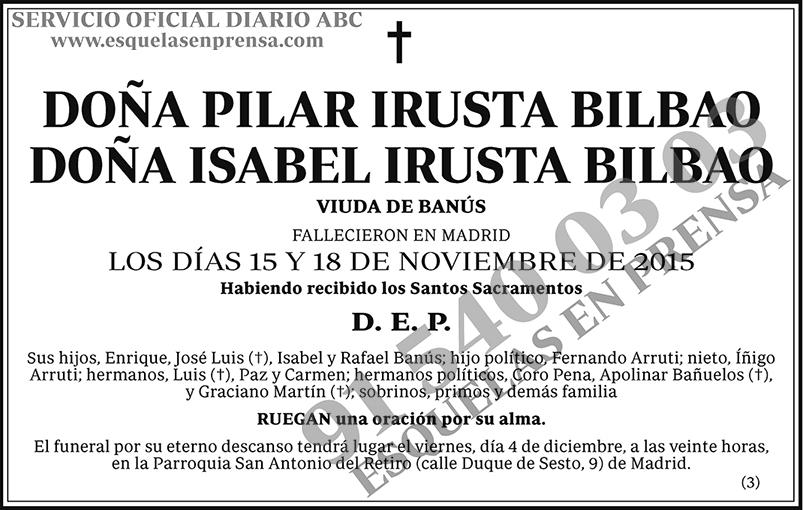 Pilar Irusta Bilbao